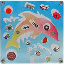 Scultura realizzata con elettroerosione a filo dall'artista Renzo Nucara