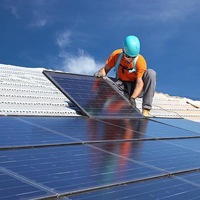 impianto fotovoltaico per lavorazioni di elettroerosione